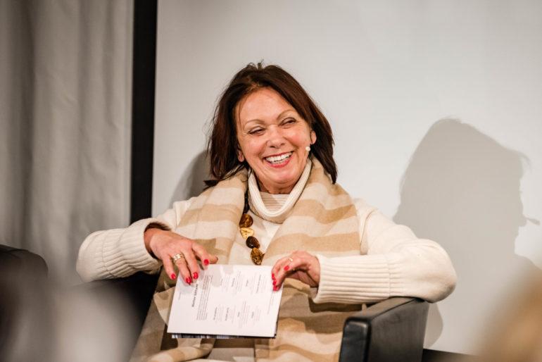 Podium Was bringen kurze Freiheitsstrafen? Marianne Heer, Oberrichterin Luzern; Polit-Forum Bern; 14.01.2020; Bild: Susanne Goldschmid