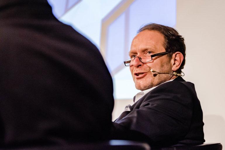 Podium Was bringen kurze Freiheitsstrafen? Benjamin Brägger, Gefängnisexperte; Polit-Forum Bern; 14.01.2020; Bild: Susanne Goldschmid