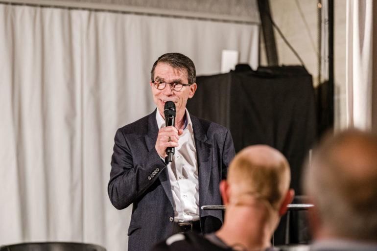 Podium zur Ausstellung «Ausnahme-Zustand» - Ohne Kultur wird's still.;  Polit-Forum Bern, 11.05.2021; Bild: Susanne Goldschmid