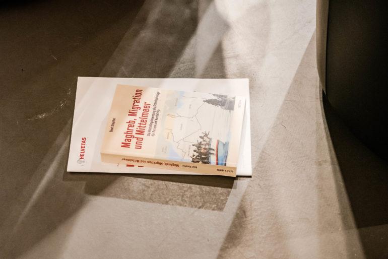 Vernissage du livre «Maghreb, Migration und Mittelmeer»; Forum Politique Berne, 03.09.2019; Foto: Susanne Goldschmid