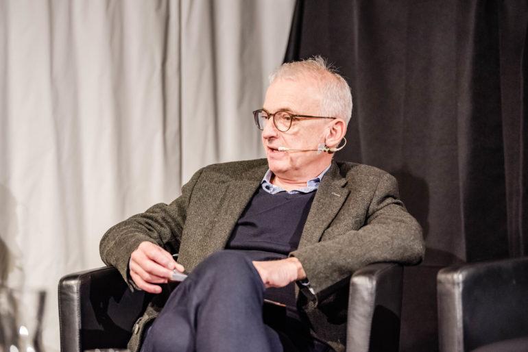"""Buchvernissage """"Frieden bauen""""; Polit-Forum Bern; 12.11.2019; Bild: Susanne Goldschmid"""