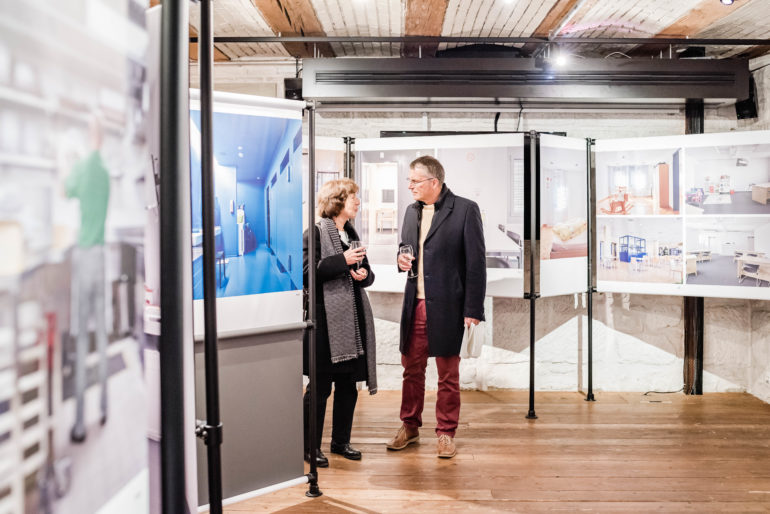"Vernissage ""Swiss Prison Photo Project""; Polit-Forum Bern; Bern; 15.10.2019; Bild: Susanne Goldschmid"