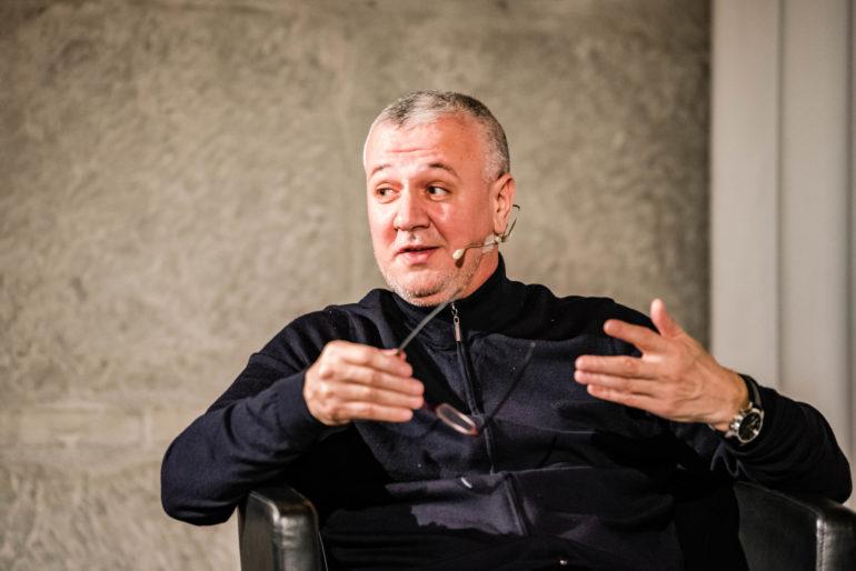 """Podium """"Gefängnisseelsorge für alle?"""";Sakib Halilovic, Imam JVA Pöschwies; Polit-Forum Bern, 03.03.2020; Bild: Susanne Goldschmid"""