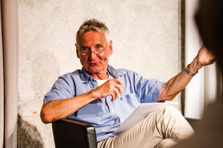 Polit-Forum Bern, Podium Corona Global, Ruedi Küng, ehem. Afrika-Korrespondent SRF; 23.06.2020; Bild: Susanne Goldschmid