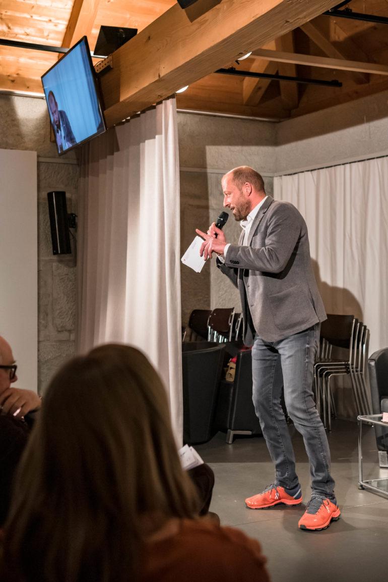 "Vernissage ""Moderne direkte Demokratie""; 16.01.2019; Polit-Forum Bern; Foto: Susanne Goldschmid"