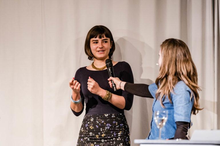 Vernissage zur Ausstellung «Digitale Demokratie»; Polit-Forum Bern; 28.04.2021; Bild: Susanne Goldschmid